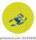 ski, skier, skiing 16183846
