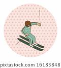 ski, skier, skiing 16183848
