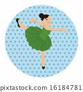 vector, dancer, ballerina 16184781