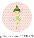 vector, ballerina, ballet 16190920