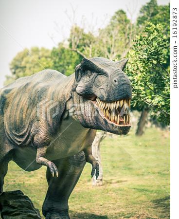 ancient extinct dinosaur tyrannosaurus 16192873