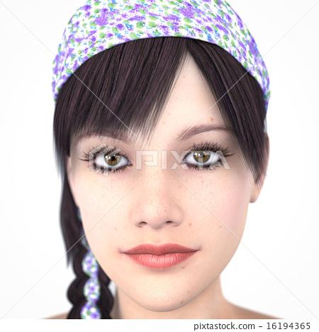 Woman portrait 16194365