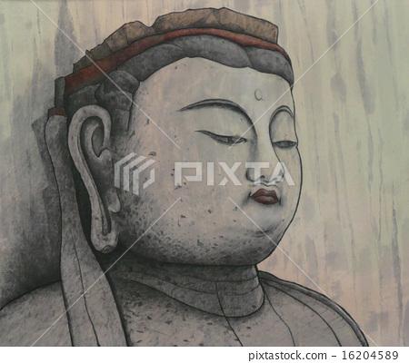 Usuki's Stone Buddha 16204589