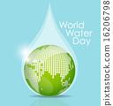 โลก,ลูกโลก,หยดน้ำ 16206798