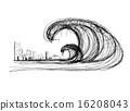 Tsunami 16208043