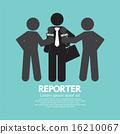 Black Symbol Reporter 16210067