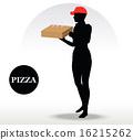 Pizza Delivery Person 16215262