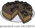 Chocolate cake 16216033