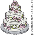 Wedding cake 16216034
