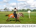 亞洲鳥 馬術 騎馬的 16231434