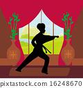 karate, man, training 16248670