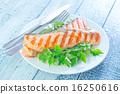烤 油炸的 沙拉 16250616