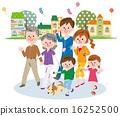 Family walks 16252500