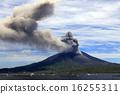 平成27年6月 海潟漁港から桜島の爆発的噴火を撮る 16255311