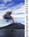 平成27年6月 海潟漁港から桜島の爆発的噴火を撮る 16255316