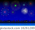 summer, festival, firework 16261289