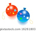 빨간색과 파란색의 요 16261803