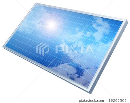 光伏 太陽能 太陽能板 16262503