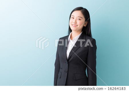 Smiley female business 16264183