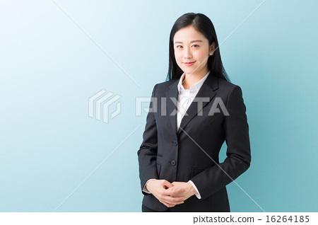 웃는 여성 사업 16264185