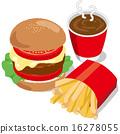 junk food vector 16278055