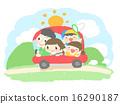 summer, holiday, drive 16290187