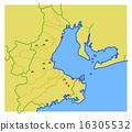 แผนที่ Muromachi ประจำเดือน Ise Bay 16305532