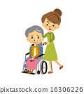 nursing, parent and child, wheelchair 16306226