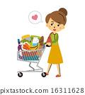 shopping, vector, vectors 16311628