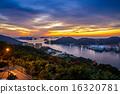 Sunset of Nagasaki 16320781
