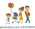 購物 家庭 矢量 16320809