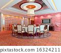 3d modern restaurant 16324211