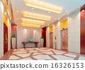3d elevator lobby rendering 16326153