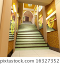 3d futuristic corridor. 16327352