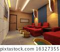 3d foot reflexology room. 16327355