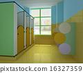 3d public children's toilet. 16327359