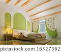 3d bedroom rendering 16327362