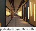 3d futuristic corridor. 16327363