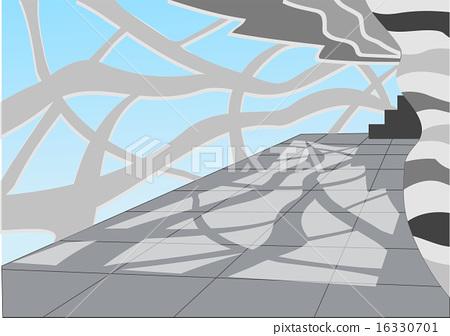 hall. light and shadow 16330701