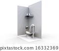 洋气 卫生间 厕所 16332369
