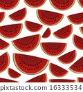 甜瓜 哈密瓜 无缝的 16333534