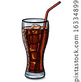 glass of cola 16334899