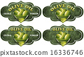 Collection of Olive Oil Labels 16336746