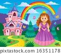 城堡 公主 王妃 16351178