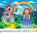 城堡 公主 王妃 16351179