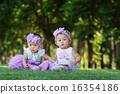 Asian children girls 16354186