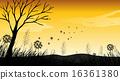 Silhouette Field 16361380