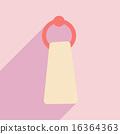 毛巾 影子 ICON 16364363
