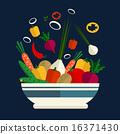 新鮮 蔬菜 沙拉 16371430