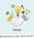 vector handshake business 16372497